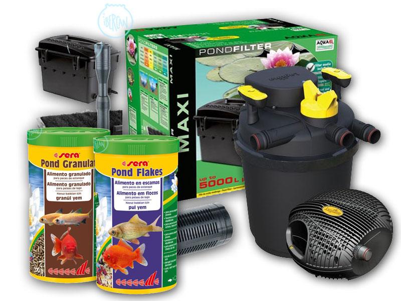 Productos y filtros para estanque econ micos ibercan for Material para estanques