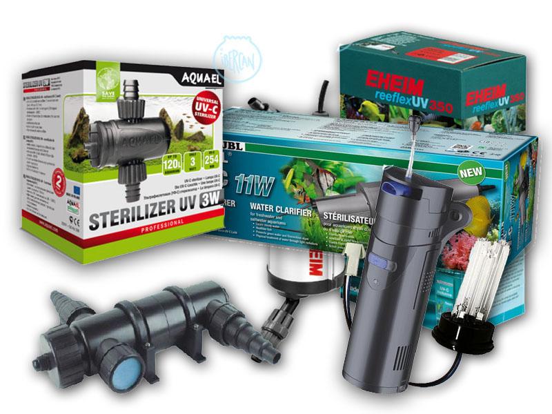 Esterilizadores UV para acuario económicos -