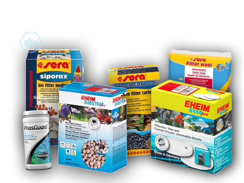 Material filtrante para acuarios económico -