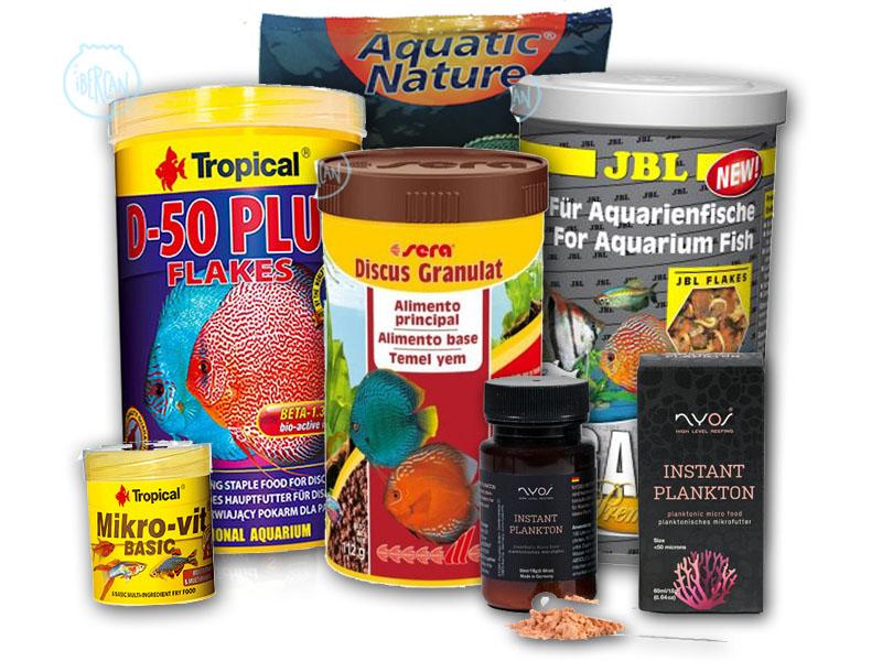 Alimentos y comida para peces de las mejores marcas -