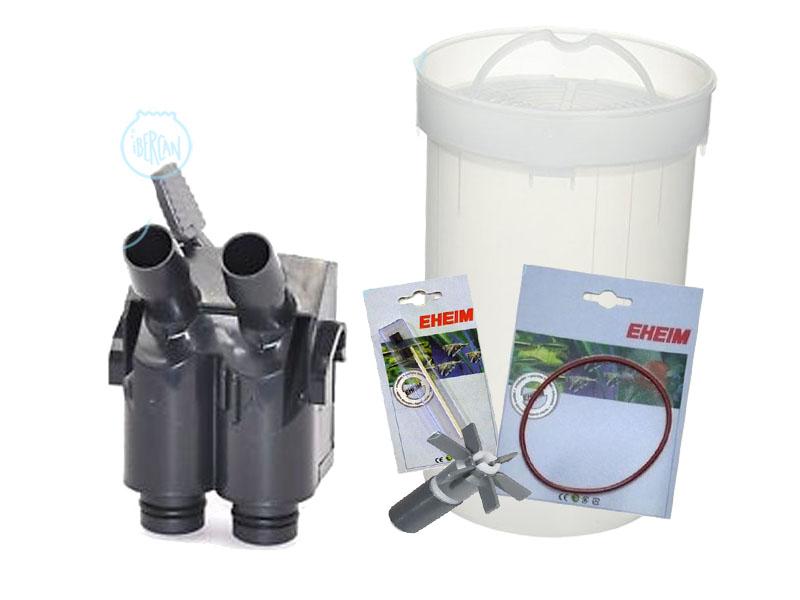 Todos los recambios para los filtros y bombas Eheim en .net con stock permanente y los mejores precios.