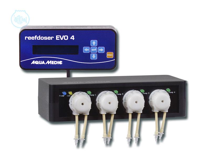 Peristáltica Reefdoser EVO 4 bomba dosificadora