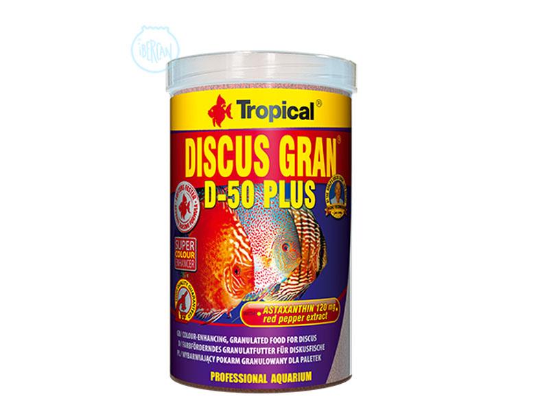 Alimento granulado peces Disco Tropical D-50 Plus
