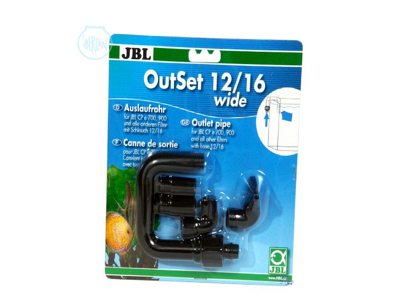 JBL Outset Wide boquilla de retorno al acuario del agua del filtro externo