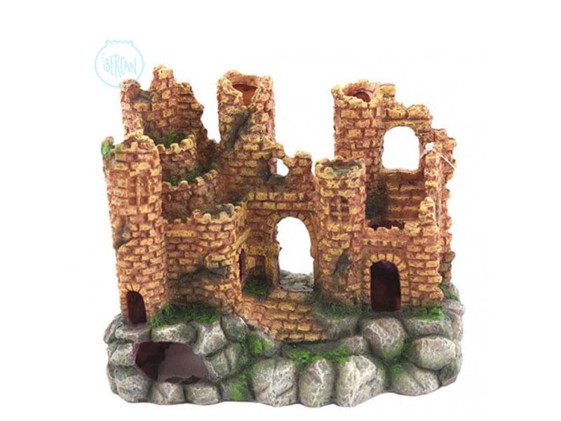 Castillos decoración acuarios