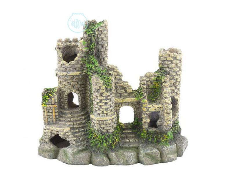 Castillo feudal para decorar acuarios