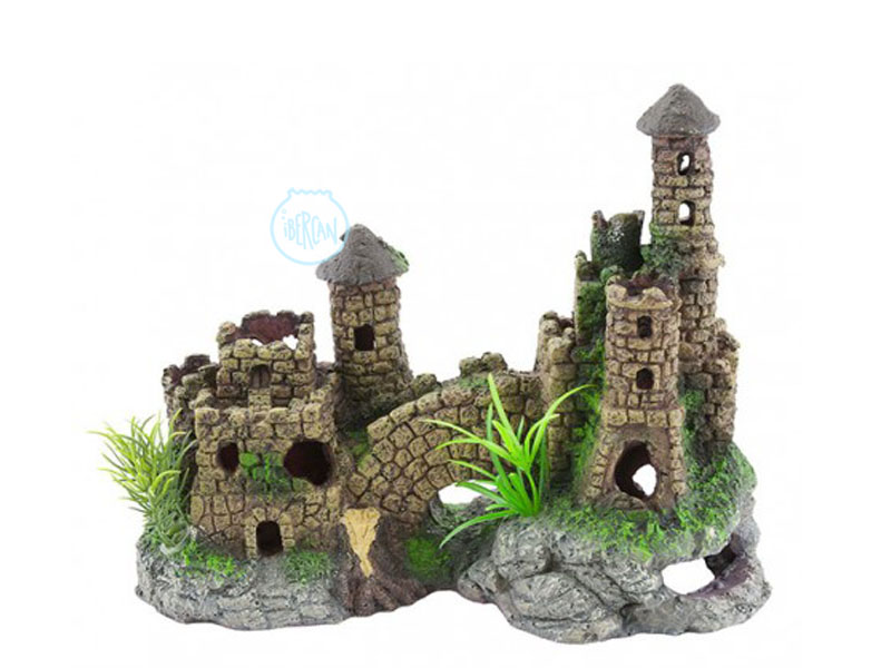 Castillo Medieval para decorar acuarios