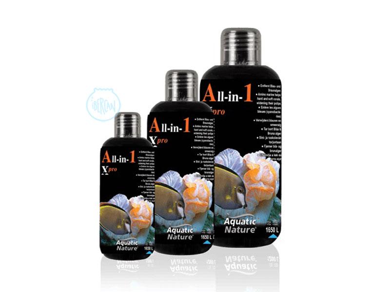 All in One X-Pro para aumentar la alcalinidad en acuarios marinos