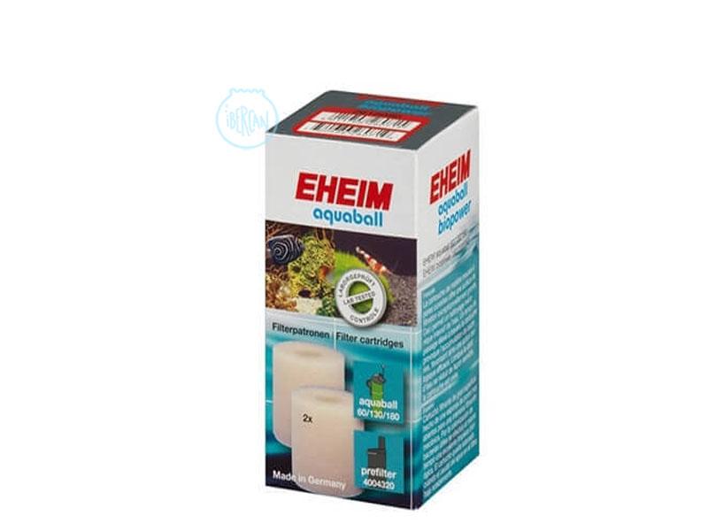 Cartuchos filtrantes para los filtros Eheim Aquaball 60/130/180 y para los prefiltros Eheim