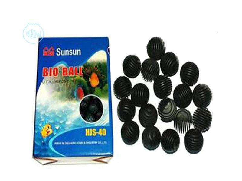Bio Bolas SunSun para la filtración de acuarios