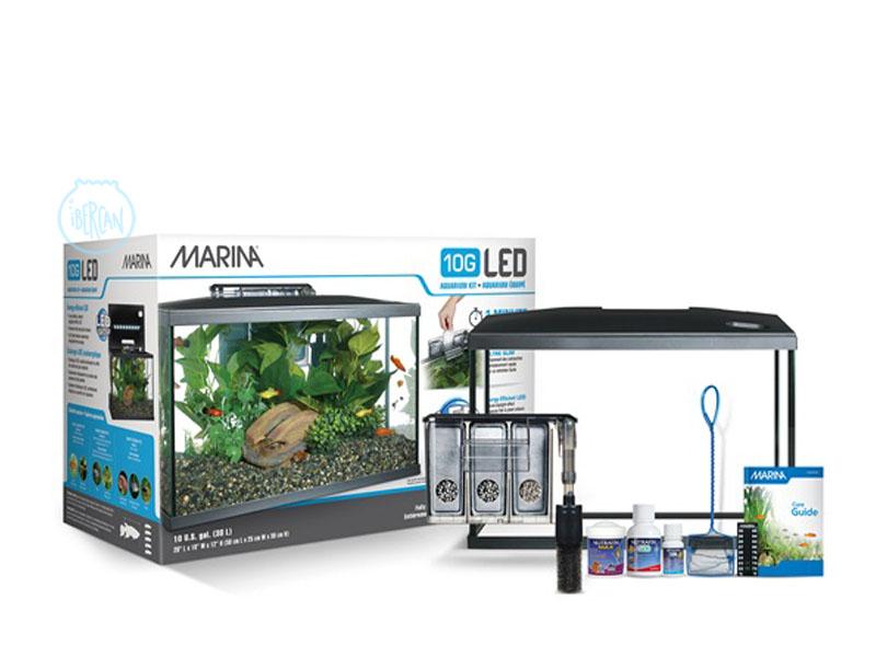 Acuario Marina LED 10G 38 litros ideal para iniciarse