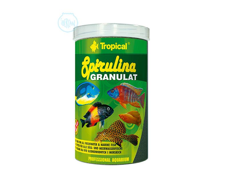 Alimento peces espirulina Tropical Spirulina Granulat