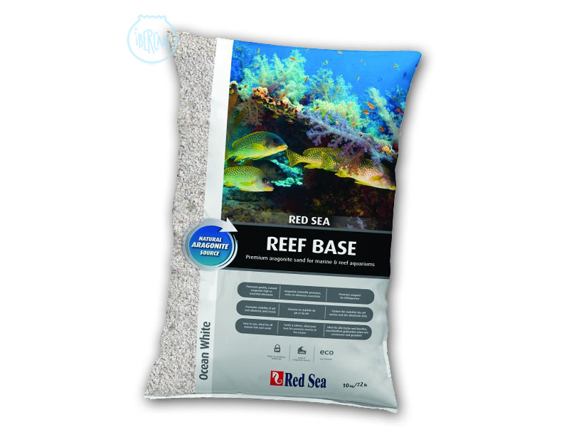 Reef base blanca Red Sea es una arena fina para acuarios marinos