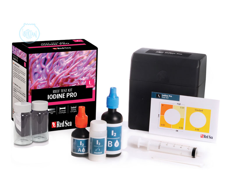 Iodine Pro Test kit de Red Sea