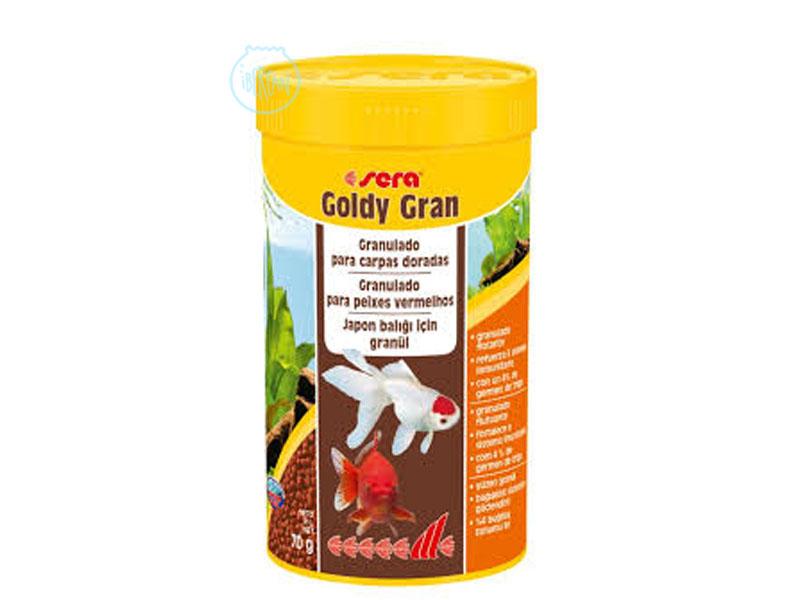Sera Goldy Gran alimento granulado para peces de agua fria