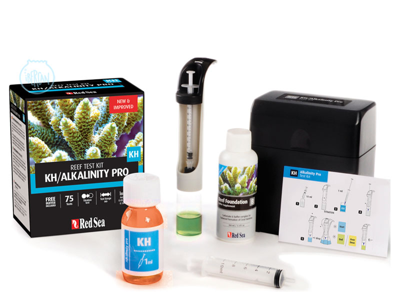 KH Pro Test kit de Red Sea