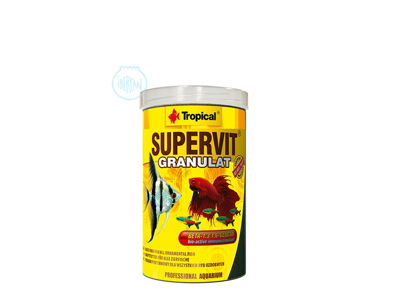 Alimento peces Tropical Supervit Granulat