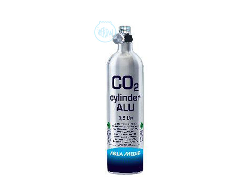 Botella CO2 Alu AquaMedic 500grs rellenable