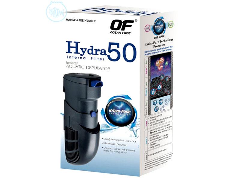 Hydra 50 filtro interior Tecnologia HYDRO-PURE
