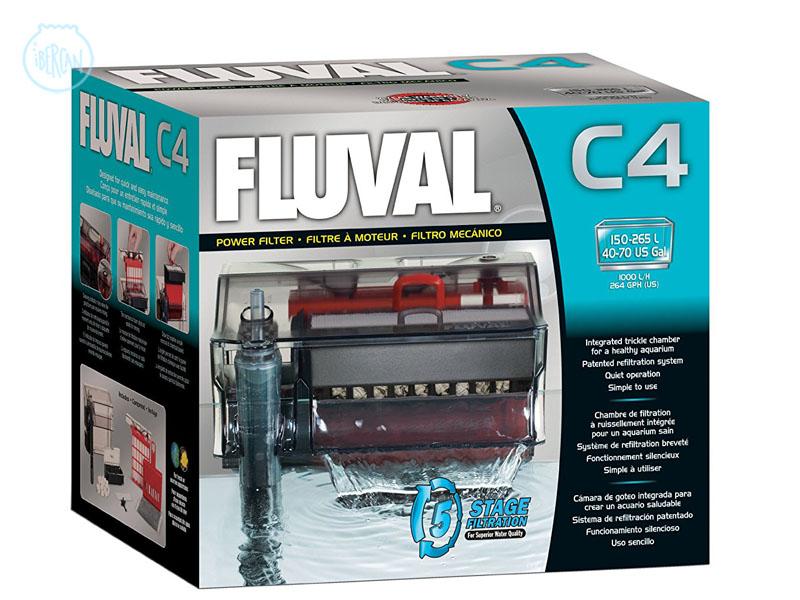 Filtro de mochila para acuarios Fluval C4