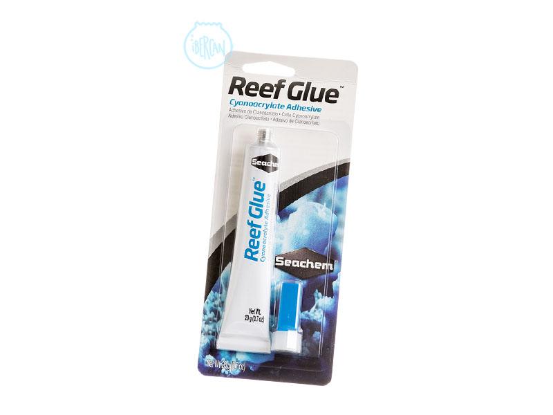 Seachem Reef Glue es un gel de cianocrilato para pegar en el acuario