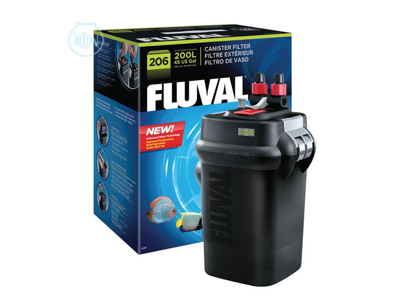Filtro exterior para acuarios Fluval 206