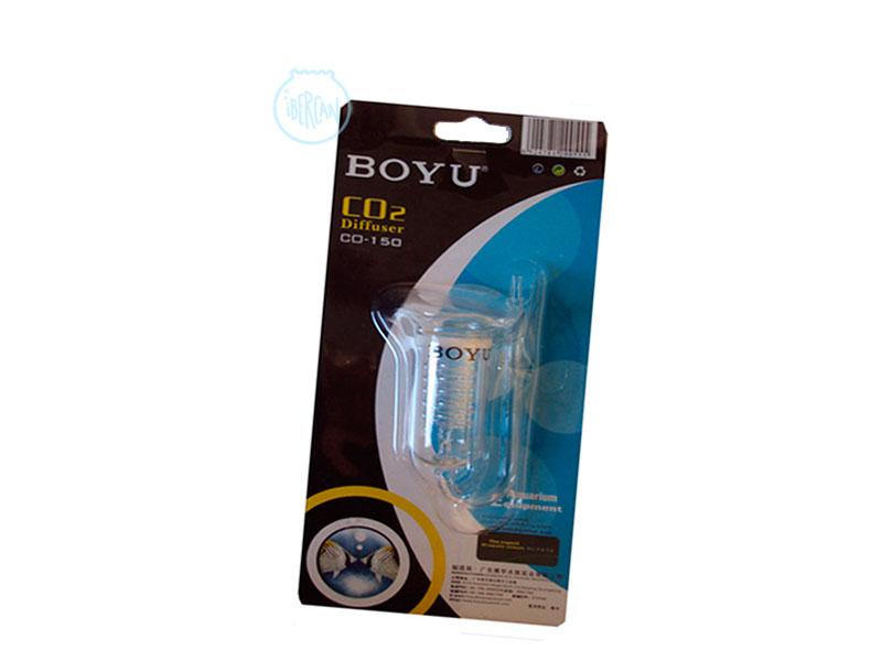Difusor CO2 de cristal Boyu. Reactor espiral CO2 para acuarios Boyu 150