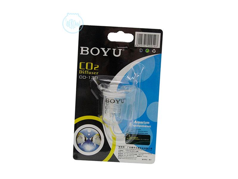 Difusor CO2 de cristal Boyu. Reactor espiral CO2 para acuarios Boyu 130