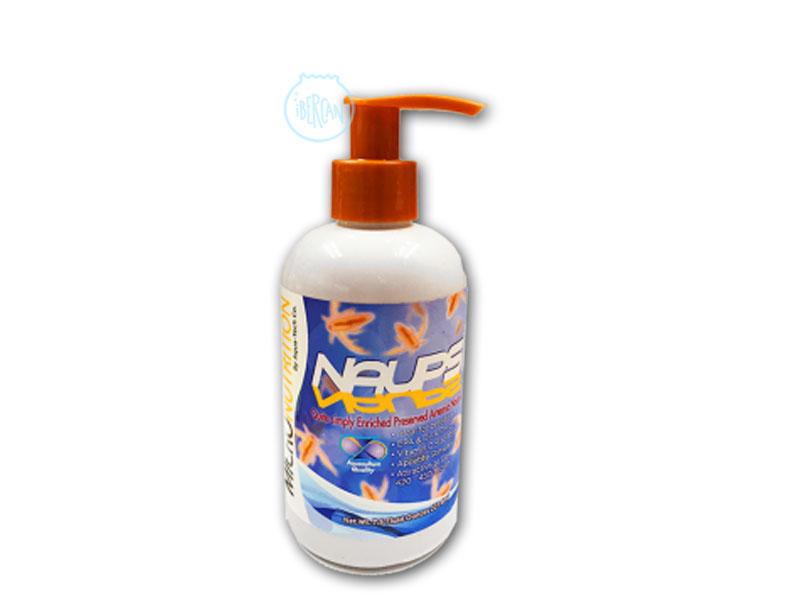 Naups de Aqua Tech son nauplios de Artemia alimentados y enriquecidos en el momento adecuado para retener ácidos grasos EPA, DHA y proteínas.