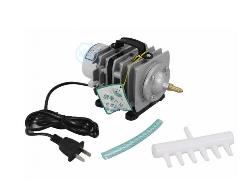 Los compresores SunSun ACO-002 de aire  para acuario, funcionan con pistón y no requieren mantenimiento, ya que están libres de aceite para que no tengas que reemplazarlas.