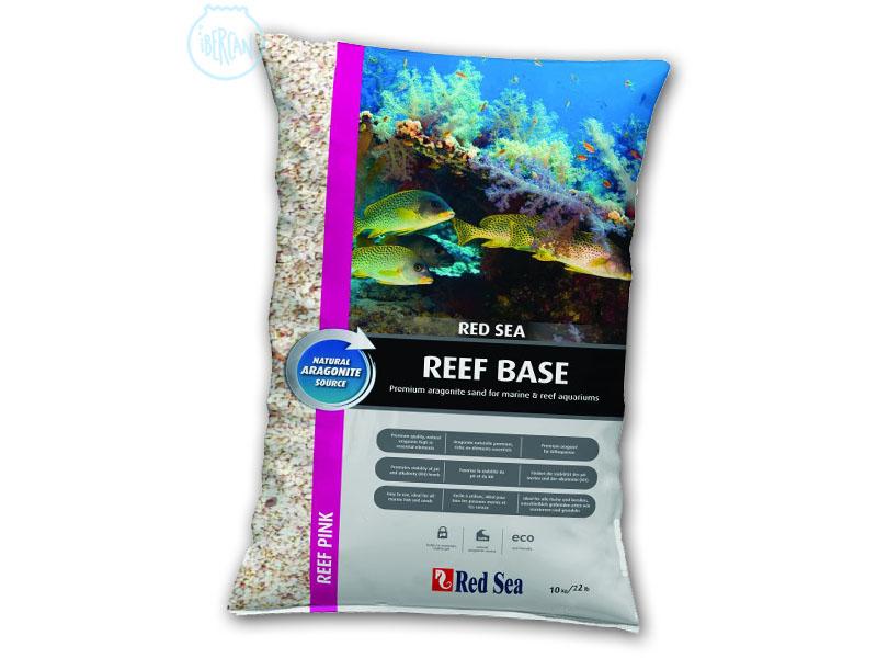 Red Sea Reef Pink Aragonite 10kg es una arena Aragonita de 0,5mm-1,5mm de tamaño. Debido a su estructura y composición, el Reef Base de Red Sea ayudará a mantener un pH estable de 8.2-8.3 en el acuario marino, realizndo la función de tampón.