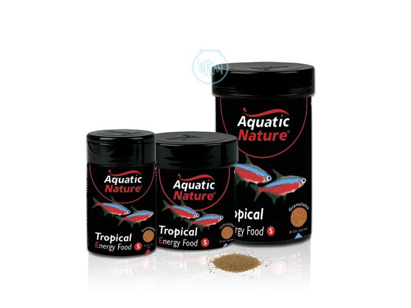 Tropical Food Energy S es un pienso completo desarrollado para todo tipo de peces tropicales de agua dulce. Promueve un crecimiento excelente. No enturbia el agua del acuario