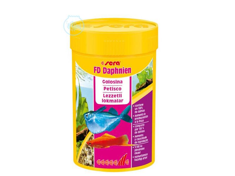 Dafnias para peces Sera FD Dafnias
