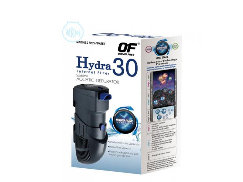 Hydra 30 filtro interior Tecnologia HYDRO-PURE