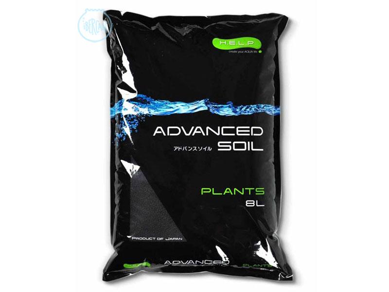 Sustrato help Advanced Soil Plants es un sustrato avazado de acuario