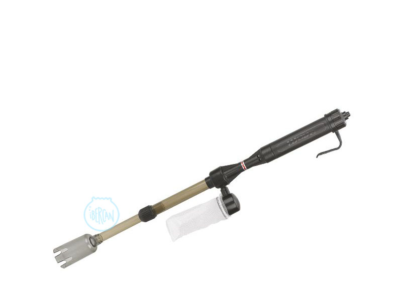 Con el aspirador Wave Handy  el mantenimiento del acuario resulta mucho más sencillo con este aspirador de fondos a pilas para acuarios.