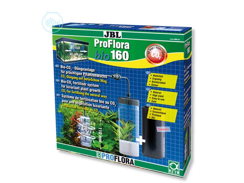 JBL ProFlora Bio160 es un sistema biológico fertilizante de CO2 con difusor