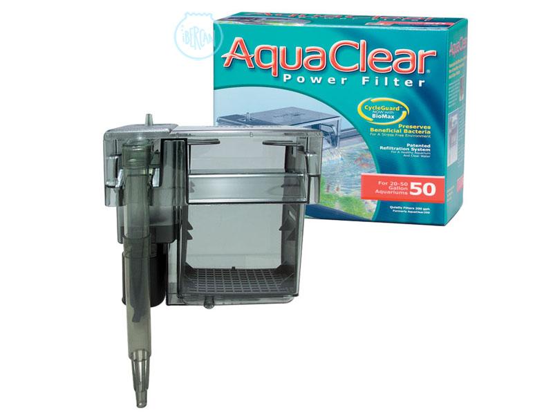 El Aquaclear 50 es un filtro de mochila con un sistema de triple filtrado, consiguiendo así una agua clara y cristalina.