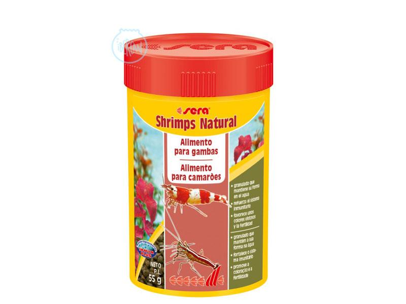 Alimento para gambas Sera Shrimps Natural