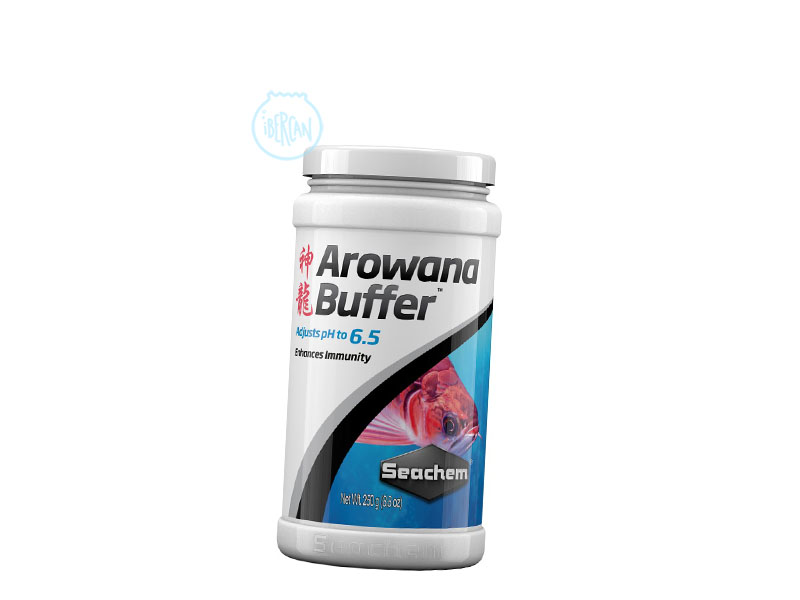 AROWANA BUFFER ajusta el pH a 6.5 tanto desde un mayor como menor pH