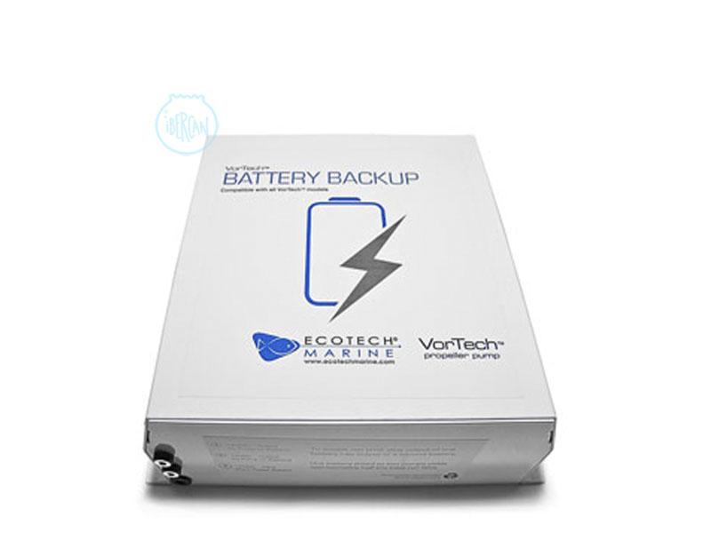 La bateria de reserva Ecotech Marine para cortes de suministro de luz.