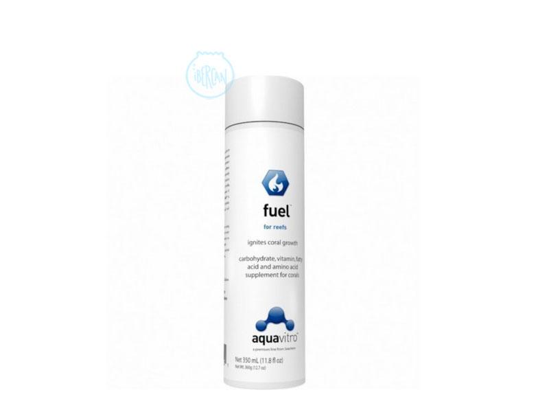 Aquavitro Fuel es un suplemento concentrado para corales de acuarios..