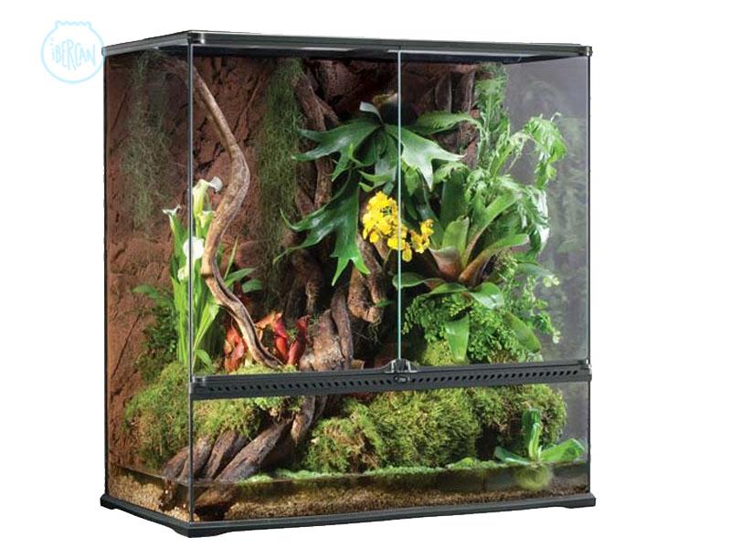 Terrario 90X45X90cm ideal para reptiles y anfibios arborícolas