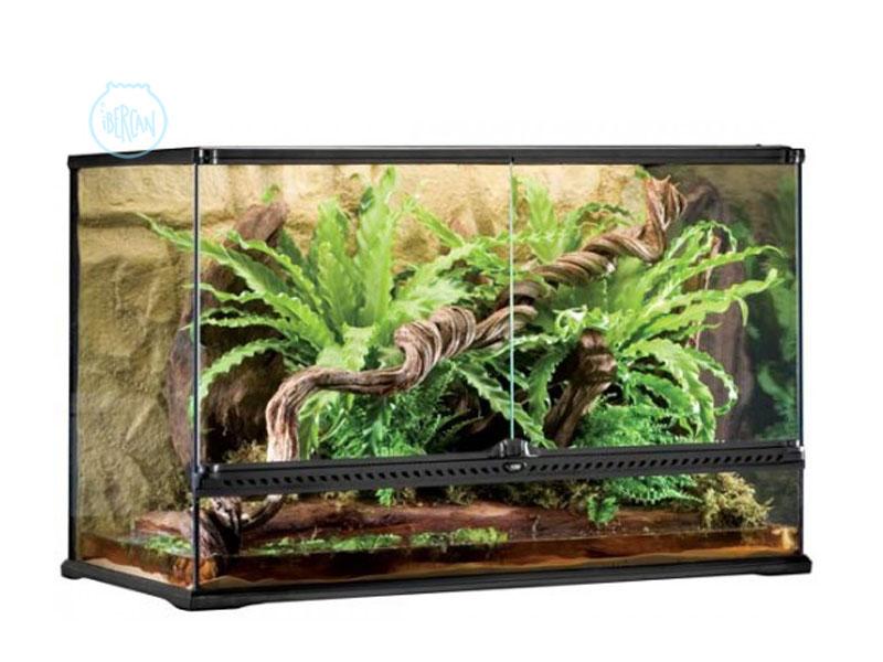 Terrario 90X45X60cm ideal para reptiles y anfibios arborícolas