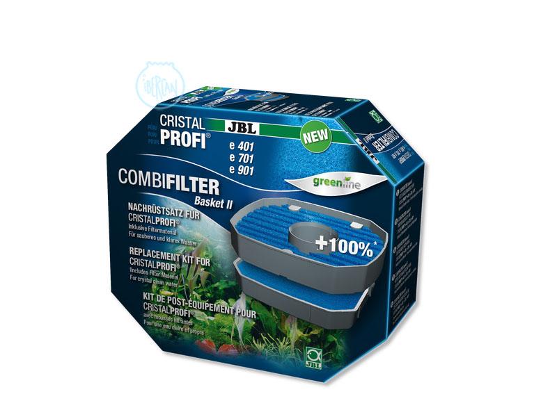 Nueva cesta de filtro superior JBL  401, 701, 901, optimizada con un 100% más de superficie de pre-filtro, incluyendo material de filtro