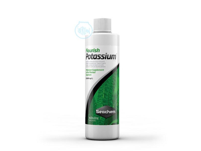 Potasio liquido plantas acuario Seachem Flourish Potassium