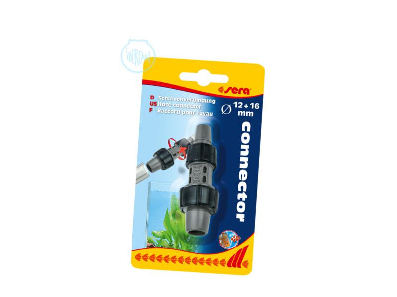 Racor para tubo 12/16 de Sera permite la conexión de tubos de bombas