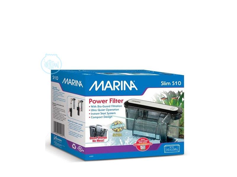 Filtro de mochila para acuarios Marina Slim 10