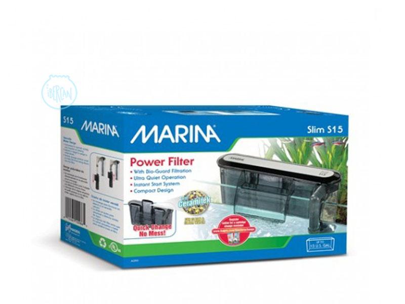 Filtro de mochila para acuarios Marina Slim 15