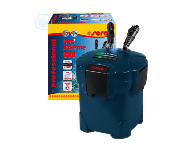 Filtros Sera UVC-Xtreme 800 son ideales para acuarios de hasta 600L